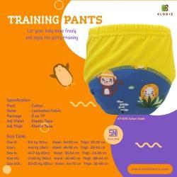 klodiz xl & xxl training pants