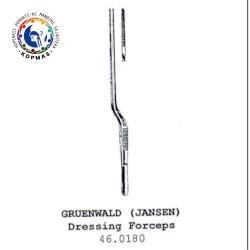 Gruendwald (Jansen) Dressing forceps 46.