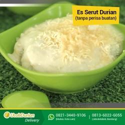 Es Serut Durian Medan