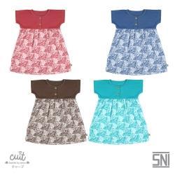 AOI Dress Toddler Mix Monstera BC