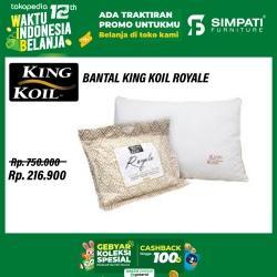 Bantal King Koil Royale
